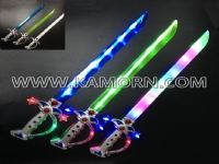 SW-13 / 9 LED pirate sword with  sound