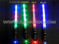SW-05M / 7 LED sword with mini ball