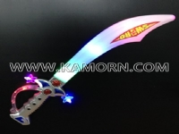 SW-12  / 6 LED pirate sword with sound