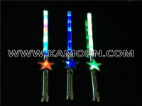 WD-09 / Flashing star wand with 3 blinking modes